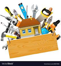 Picture of house in a tool box with tools (JPG)